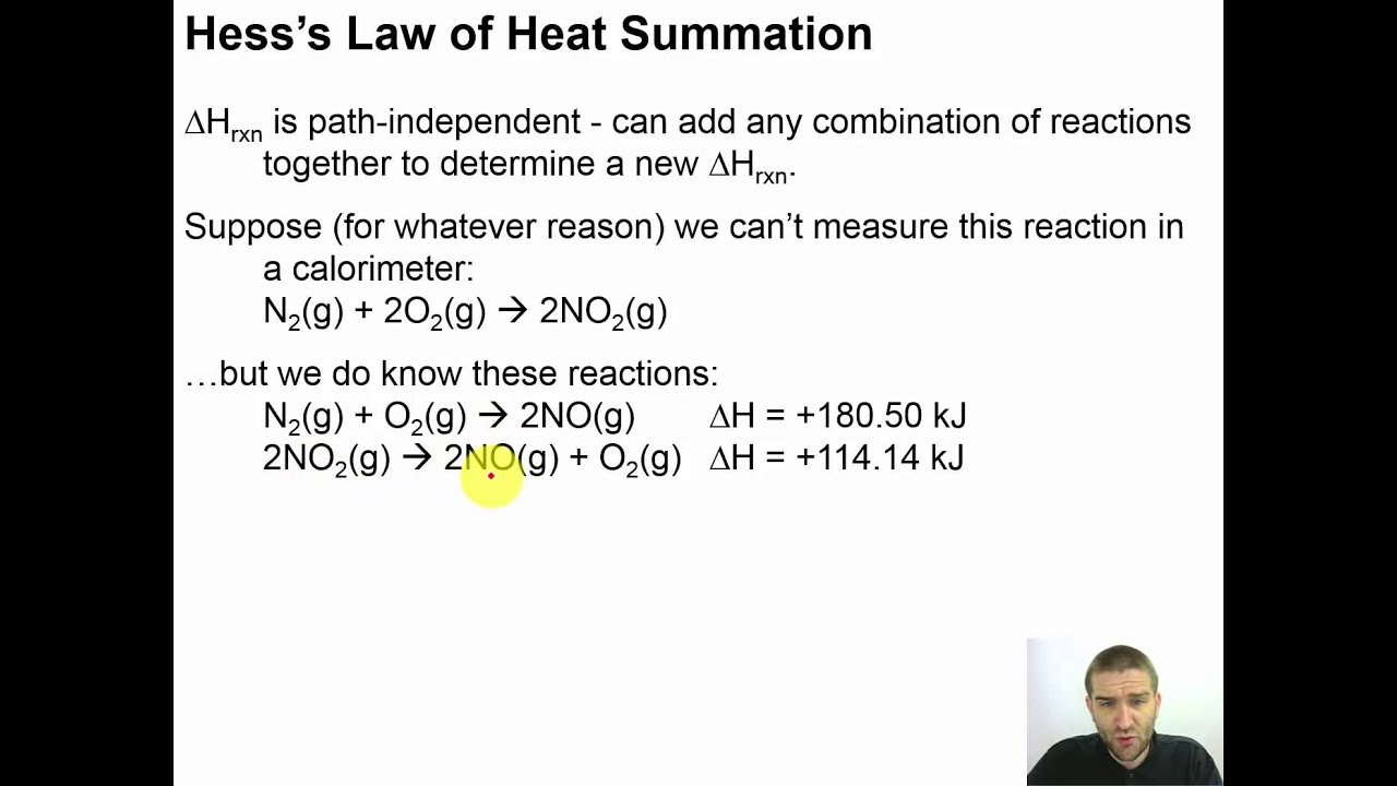 heat of reaction hess s law Your chemistry textbook has a list of standard heats of formation (δh°f) for  hess's law of heat summation, which says that the heat absorbed or evolved in a.