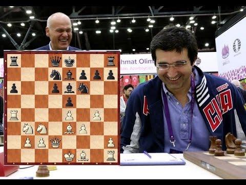 Гроссмейстеры проигрывают в 20 ходов. Украина бьёт Китайцев. 5 тур шахматной олимпиады.