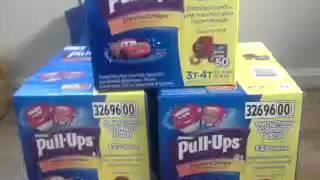 Pull Ups on CLEARANCE @ Wal-Mart!!!! RUN!!!!!!!!!!