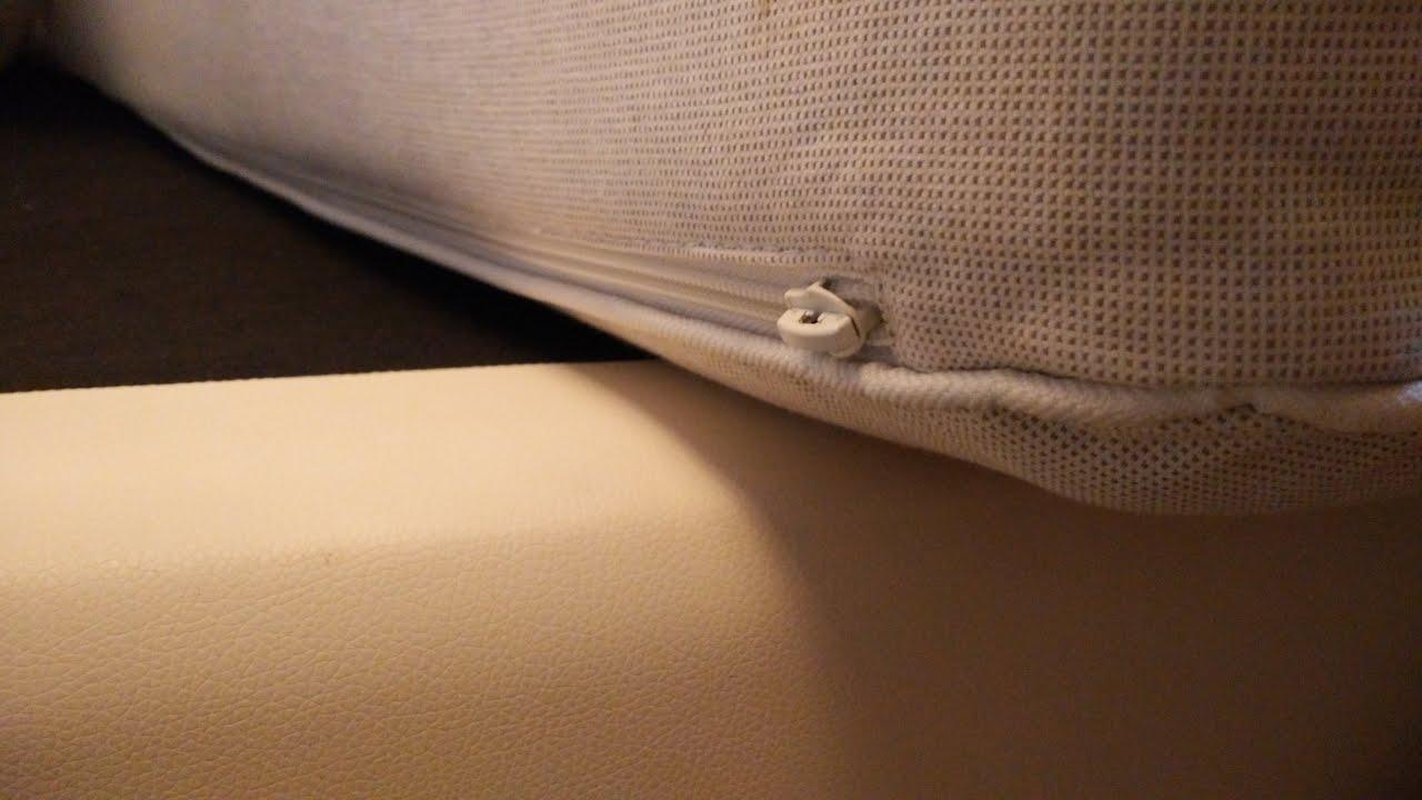 Ikea Matras Junior : How to : unzip an ikea mattress childproof zipper asmr youtube