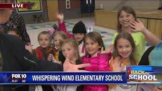 Back to school: Whispering Wind Elementary School
