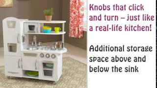 KidKraft Vintage Kitchen (Toys) - Kids Kitchen Set