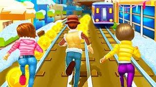 Subway Princess Runner Vs Subway Rush Runner | Android Gameplay | Friction Games