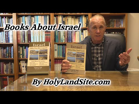 Books About Israel, The Holy Land! Israel Travel Guide - Biblical Sites Book Of The Holy Land!