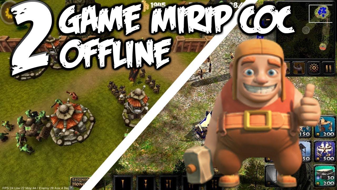 2 Game Mirip COC OFFLINE Tidak Pakai Koneksi Internet