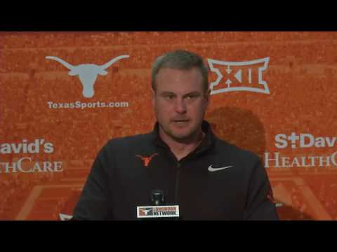Tom Herman press conference [March 19, 2018]
