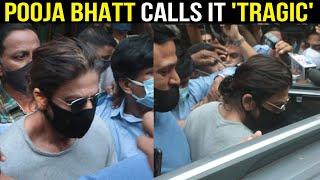Shah Rukh Khan gets mobbed outside Arthur Road jail, Pooja Bhatt reacts