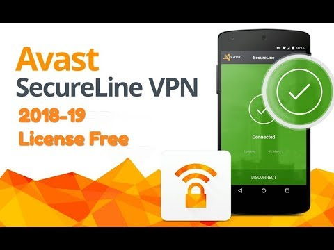 Avast SecureLine VPN 2018 -19 License Free // Free VPN Unlimited.