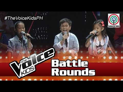 "The Voice Kids Philippines Battle Rounds 2016: ""Bonggahan"" by Peter, Saisha & Carmela"