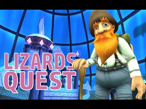 Wizard101 - All Lounge Lizard Locations!