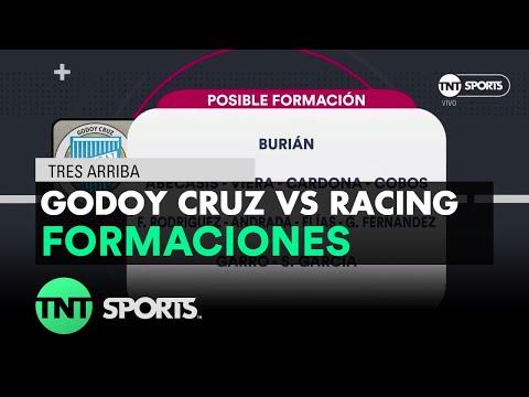 Posibles formaciones: Godoy Cruz vs Racing | Fecha 17 - Superliga Argentina 2017/2018