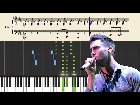 Maroon 5 - This Love - Piano Tutorial