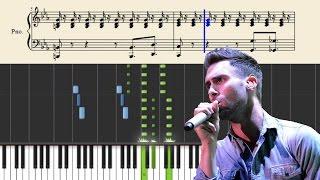 Maroon 5 - This Love - Piano Tutorial