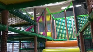Indoor playground. For kids fun play time