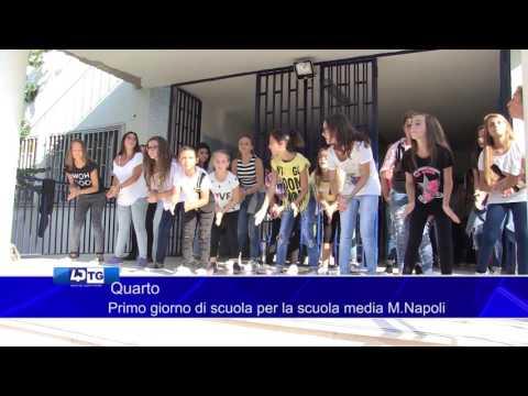 Quarto   Primo giorno di scuola per la scuola media M Napoli