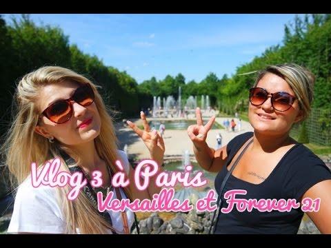 ✿ Vlog 3 à Paris ; Versailles et culottes trop grandes !