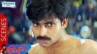 Pawan Kalyan Fights With Bhupinder | Climax Scene | Thammudu Telugu Movie Scenes | Shemaroo Telugu
