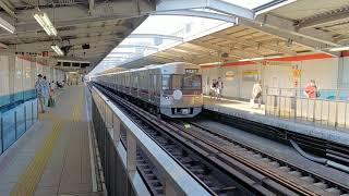 北大阪急行9000系ポールスターⅡ第2編成  なかもず行き 西中島南方発車