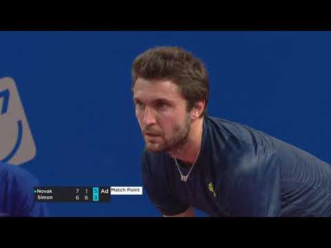OPEN SUD DE FRANCE 2021 - Dennis Novak vs Gilles Simon - 1er tour - Highlights