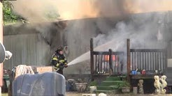 Saturday evening Florence mobile home fire
