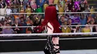 WWE 2K16: Rayne, the Red Carpet Whore