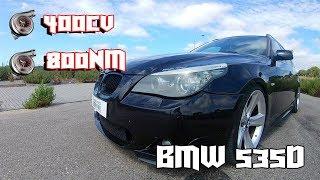BMW 535D 3.0 *BITURBO* Com 400 CV e 800NM BINÁRIO !! A CARRINHA MAIS FORTE QUE JÁ ANDEI !!!