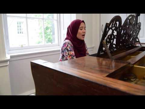 Sudirman - Dari Jauh Ku Pohon Maaf cover by ALWANI