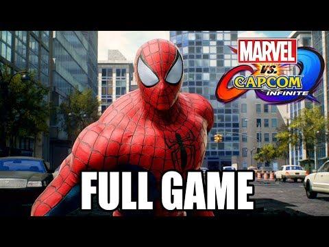 Marvel vs Capcom: Infinite FULL STORY Walkthrough @ 1080p (60ᶠᵖˢ) HD ✔