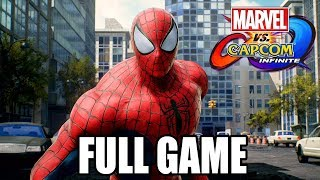 Marvel vs Capcom: Infinite FULL STORY Walkthrough @ 1080p (60ᶠᵖˢ) HD ✔