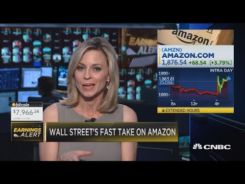 Here's what Wall Street analysts had to say about Amazon earnings