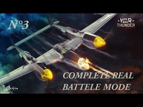War Thunder gameplay Battaglia reale completa mode by trincia [MUR]