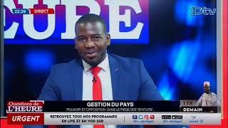 QUESTION DE L HEURE DU 16 SEPTEMBRE 2020 INVITE PR SERIGNE KHADIMOU BOUSSO
