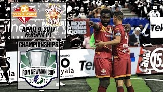 Ron Newman Cup Championship Series Game Two - Soles de Sonora vs Baltimore Blast (Espanol) thumbnail