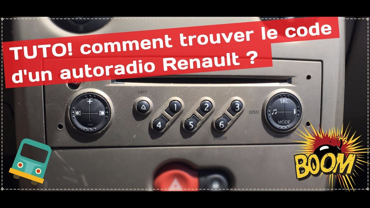 comment r cup rer le code autoradio renault gratuitement youtube. Black Bedroom Furniture Sets. Home Design Ideas