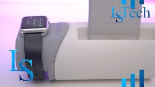 2 in 1 Charging Dock | Apple Watch | iPhone | Aivant | Review