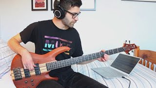 Dream Theater - Learning To Live (Bass Cover)