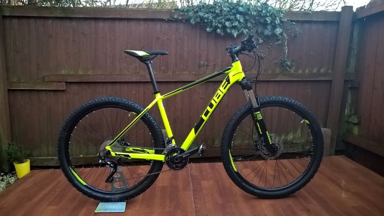 new release great prices latest Cube Attention sl 2016 27.5 Mountain Bike RRP£560..Rower Górski