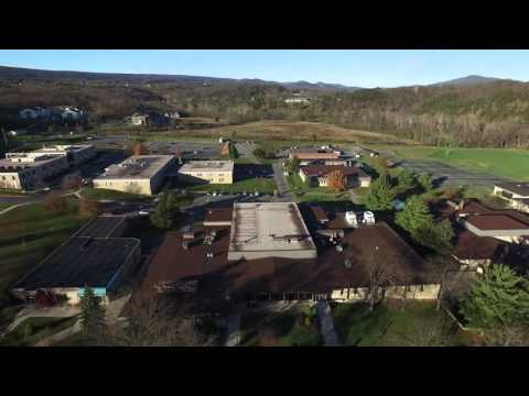 DJI Inspire 1 Drone at Allegany College Of Maryland (Cumberland) 4k