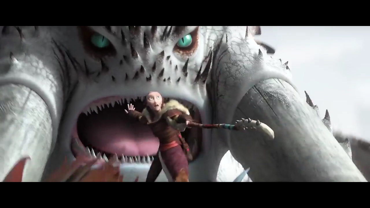 How To Train Your Dragon 2 Battle Of The Bewilderbeast English Youtube