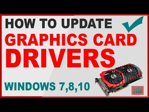 How To Update Graphics Card Driver In Windows 7 - Tutorial