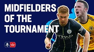 De Bruyne, Jota, Knockaert? Pick YOUR Midfielder of the Tournament   Emirates FA Cup 18/19