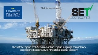 SET - Safety English Test - Language Solutions International