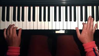 Something - The Beatles, solo piano cover YouTube Thumbnail