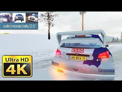 Old Games in 4k : Colin McRae Rally 2