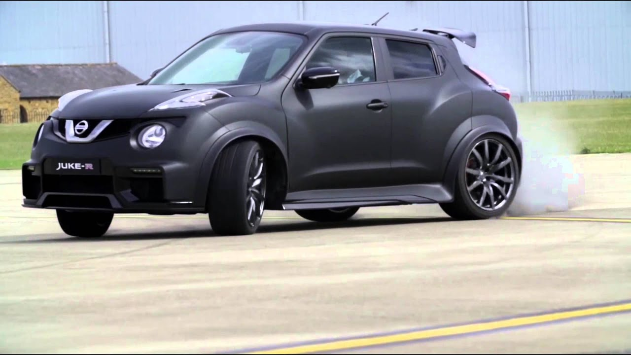 2016 Nissan Juke-R 2.0 Driving Video | AutoMotoTV - YouTube