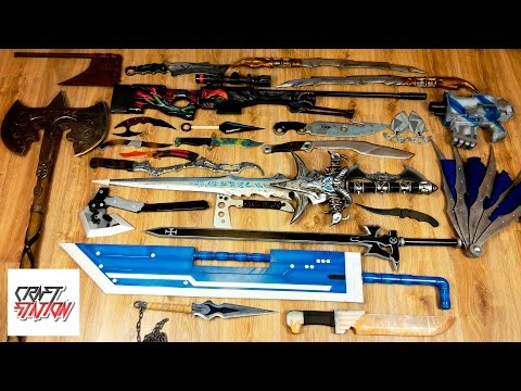 My collection of weapons from games and movies