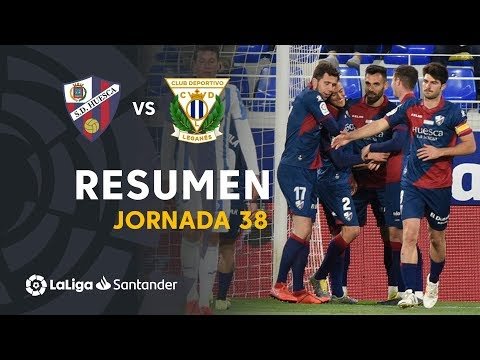 Resumen de SD Huesca vs CD Leganés (2-1)