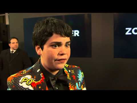 "Zoolander 2: Cyrus Arnold ""Derek Zoolander Jr."" Red Carpet Movie Premiere Interview"