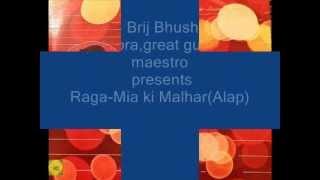 Pt. Brij Bhushan Kabra, guitar virtuoso presenting Raga- Mia Ki Malhar(Alap, Jod, Jhala)