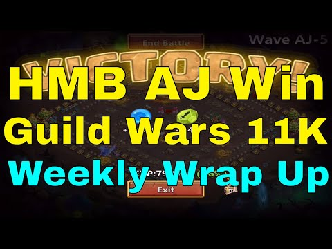 Castle Clash Guild Wars 11K, HBM AJ Win, And Weekly Wrap Up